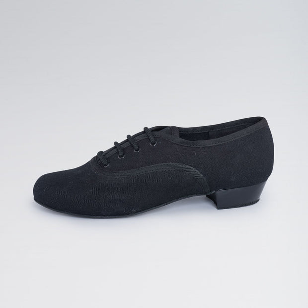 Low Heel Canvas Oxford Character Shoes