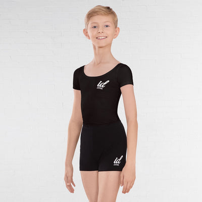 Boys Short Sleeved Ballet Leotard