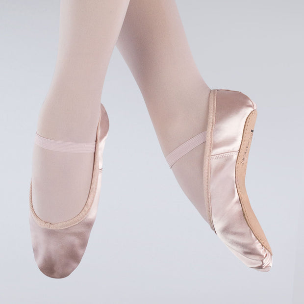 Satin Full Sole Ballet Shoes