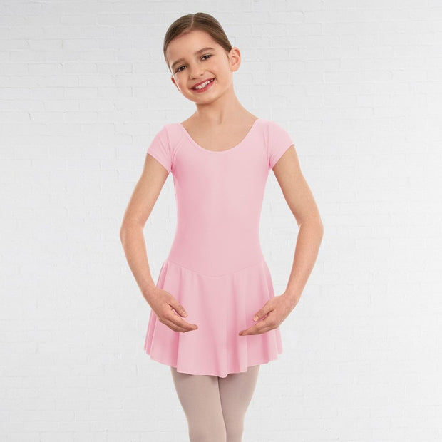Maddy Skirted Cap Sleeved Leotard