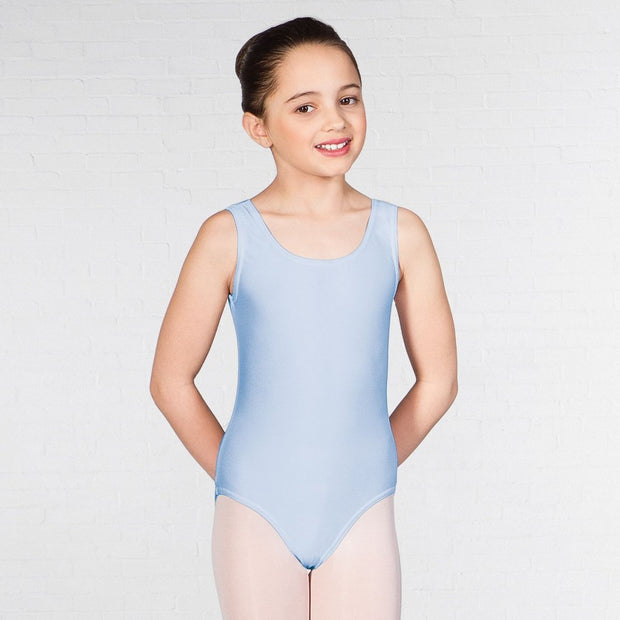 Laura Nylon Lycra Vest Leotard