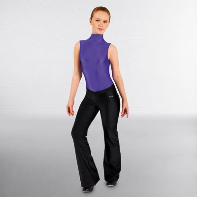 V Front Nylon Jazz Pants