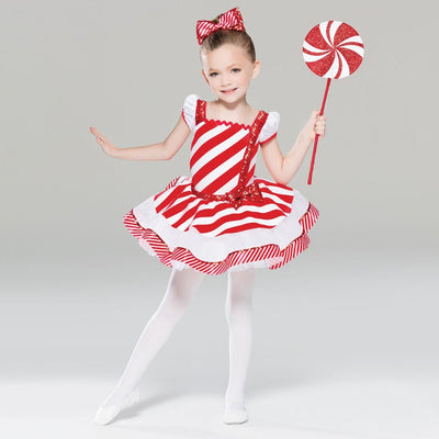 Peppermint Twist Dance Costume