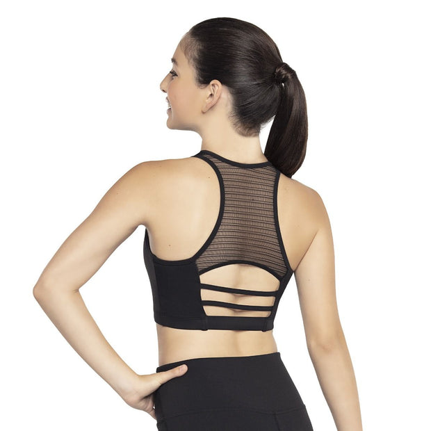 Bloch Linear Mesh Bra Top