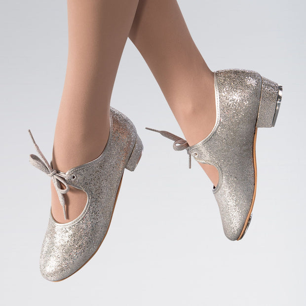 Hologram Low Heel Tap Shoes