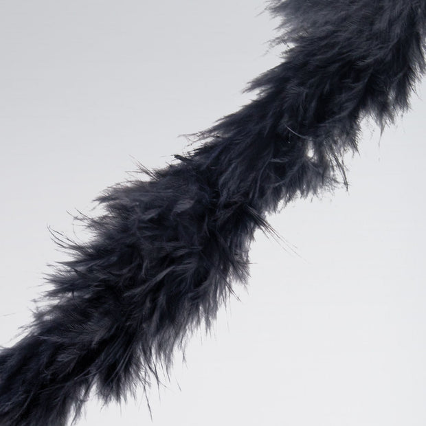 Black Marabou Trimming