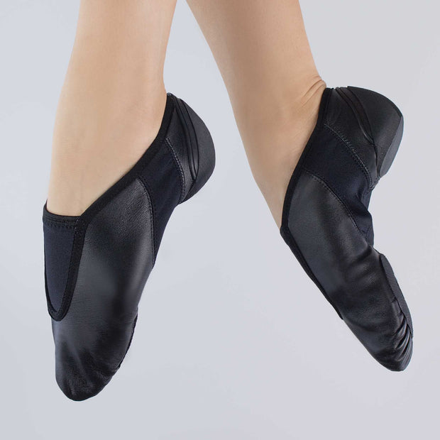 Flex Slip On Leather Jazz Shoes