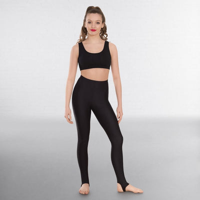 Nylon Lycra Stirrup Dance Tights