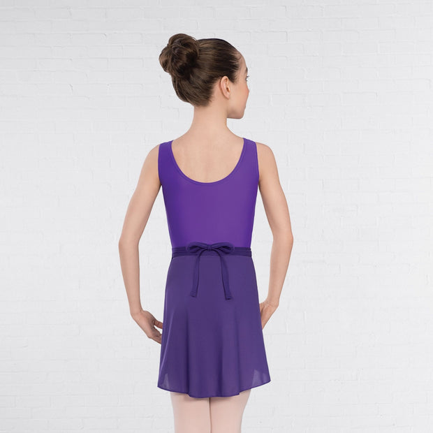 Helena Sleeveless Ruched Front Leotard