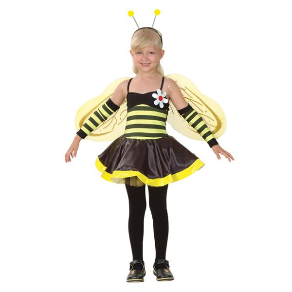 Bee Dress With Wings