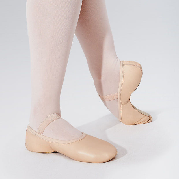 Lilly Leather Full Sole Ballet Shoes