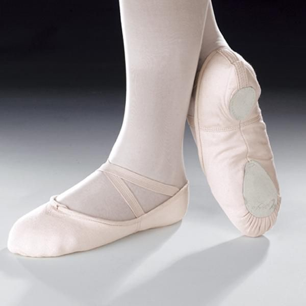 Cobra Canvas Split Sole Ballet Shoes