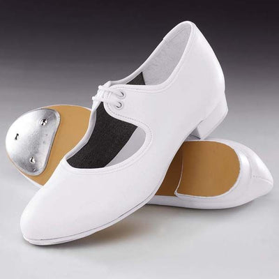 PU Low Heel Tap Shoes