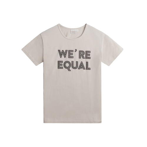 mamma, vuxen t-shirt, were equal