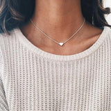 2016 Hottest Fashion Casual Personality Circle Lariat Pendant Gold Color Necklace High Quality Simple Choker Necklaces Women - ZepDeals.com