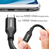 Baseus Micro USB Cable 2A Fast Charging Data Wire Cord Microusb Charger Cable For Samsung Xiaomi Android Mobile Phone Cables - ZepDeals.com