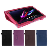 Case for 10.1 inch Sony Xperia Table Z, GARUNK Solid Filp Litchi Leather Protective Cover for Sony Xperia Z1 Tablet Accessories - ZepDeals.com