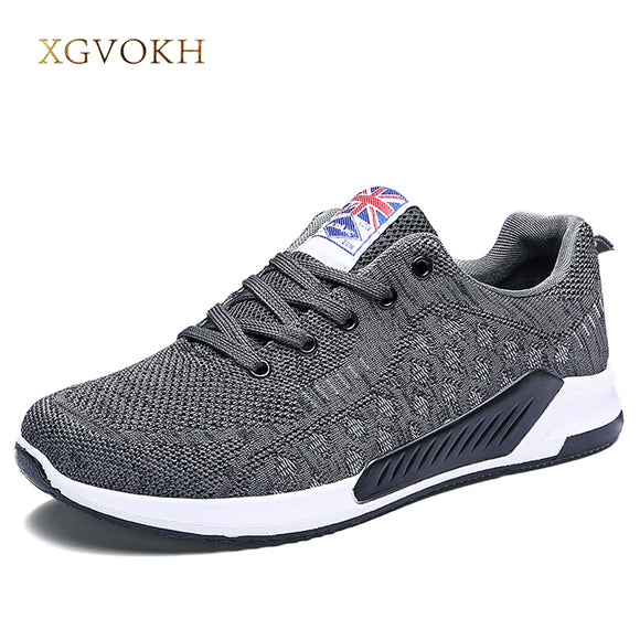 Men shoes fashion Casual lace up sneakers Homme Comfortable adult Footwear Spring autumn Lightweight Zapatos Breathable Flats