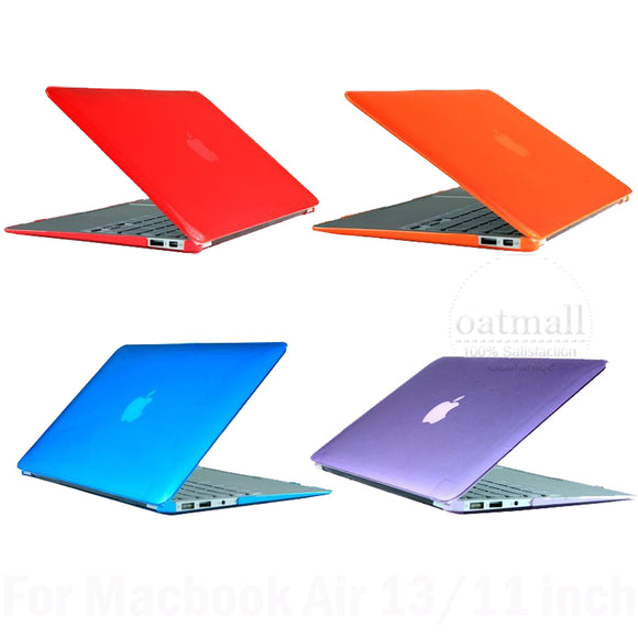 New Anti Glare Matte Rubberized Hard Cover for MacBook Air Case 13 inch For Macbook skin laptop bag & Cases Accessories