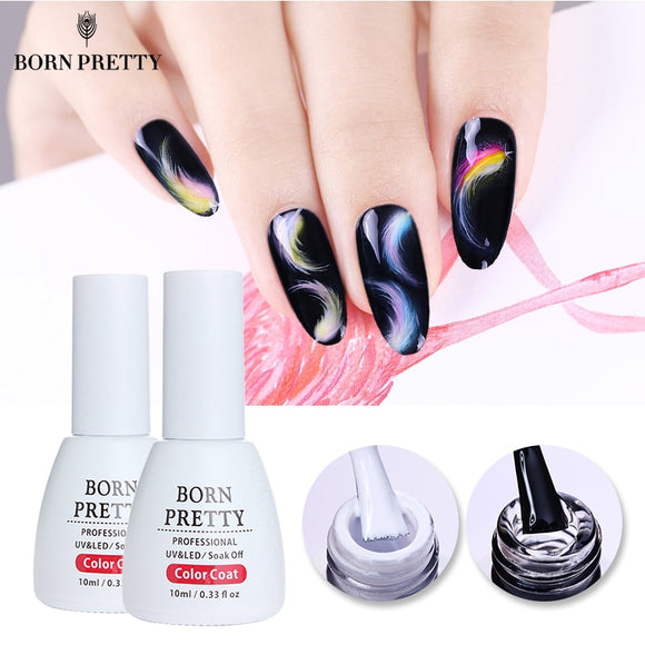 BORN PRETTY Blossom Nail Gel Polish 10ml White Clear Soak off UV Gel Lacquer Magic Blooming Color UV Nail Gel Varnish - ZepDeals.com