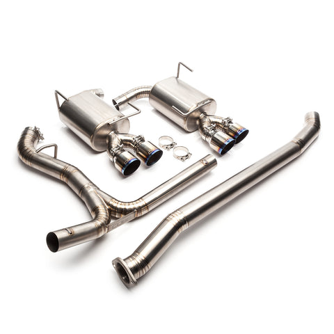 "Cobb Tuning Titanium 3"" Cat-Back Exhaust - (2011+ WRX/STI Sedan)"