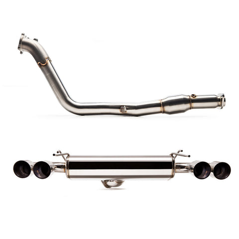 "Cobb Tuning SS 3"" Turboback Exhaust - WRX/STI Hatch"