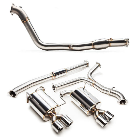 "Cobb Tuning SS 3"" Turboback Exhaust - 15+ STI"