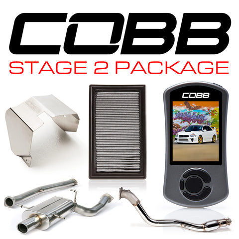 Cobb Tuning Stage 2 Power Package w/ V3 - 02/05 WRX