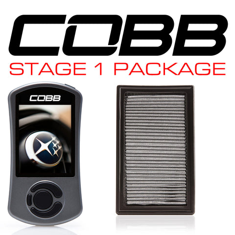 Cobb Tuning Stage 1 Power Package w/ V3 - 06/07 WRX, 04/07 STI, 04/06 FXT