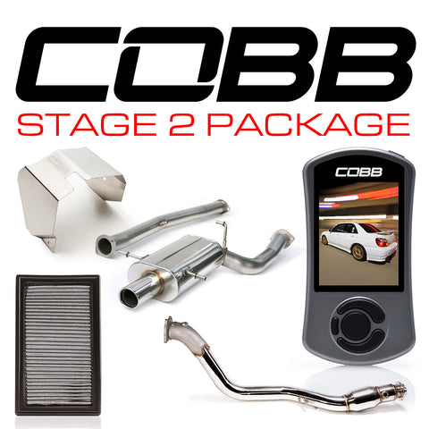 Cobb Tuning Stage 2 Power Package w/V3 - 06/07 WRX