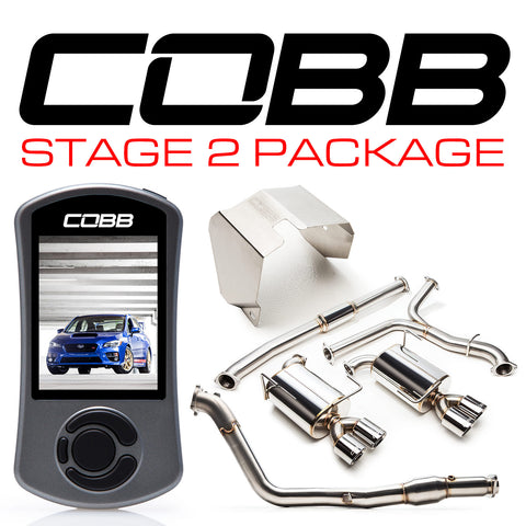 Cobb Tuning Stage 2 Power Package - 15+ STI