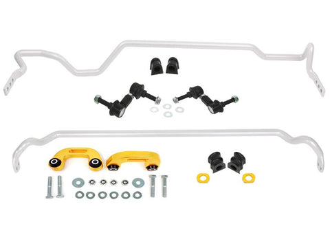 Whiteline 02-07 Subaru Impreza WRX Front And Rear Sway Bar Kit 22mm