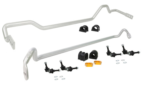 Whiteline 04-07 Subaru WRX STi Front and Rear Swaybar Assembly Kit