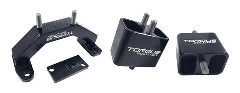 Torque Solution Solid Billet Aluminum Engine & Transmission Mounts 02-14 Subaru WRX / 04-17 STi