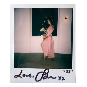 Signed Polaroid