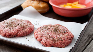 New York State Black Angus Beef Patties (4 oz) - Qty: 8