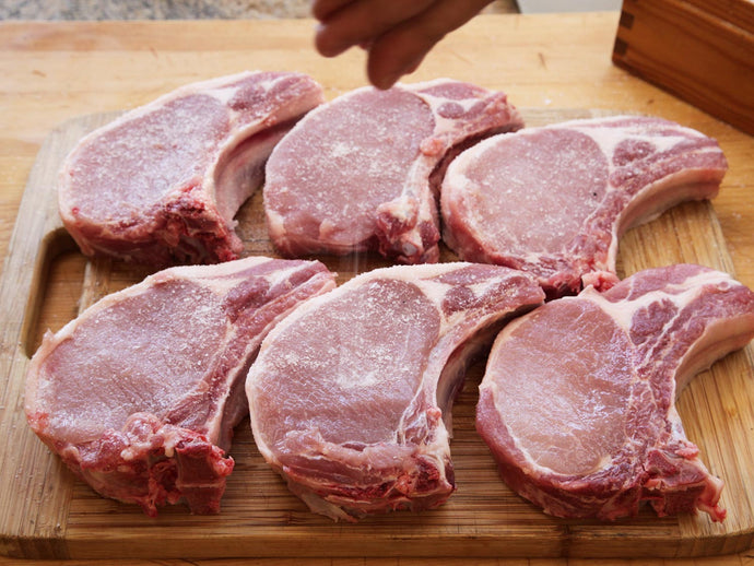Pork chops (1 inch cut)
