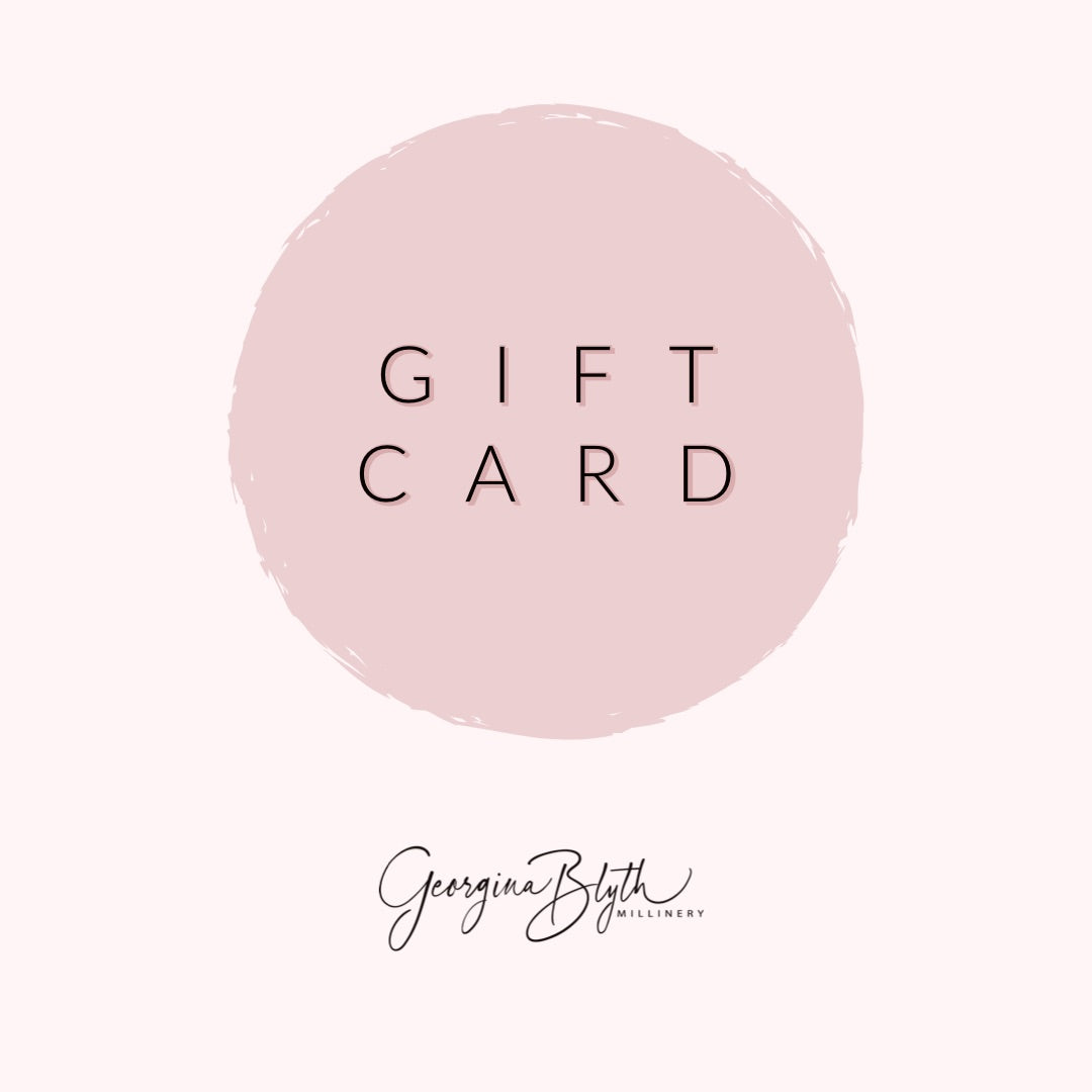 Gift Card for Georgina Blyth Millinery