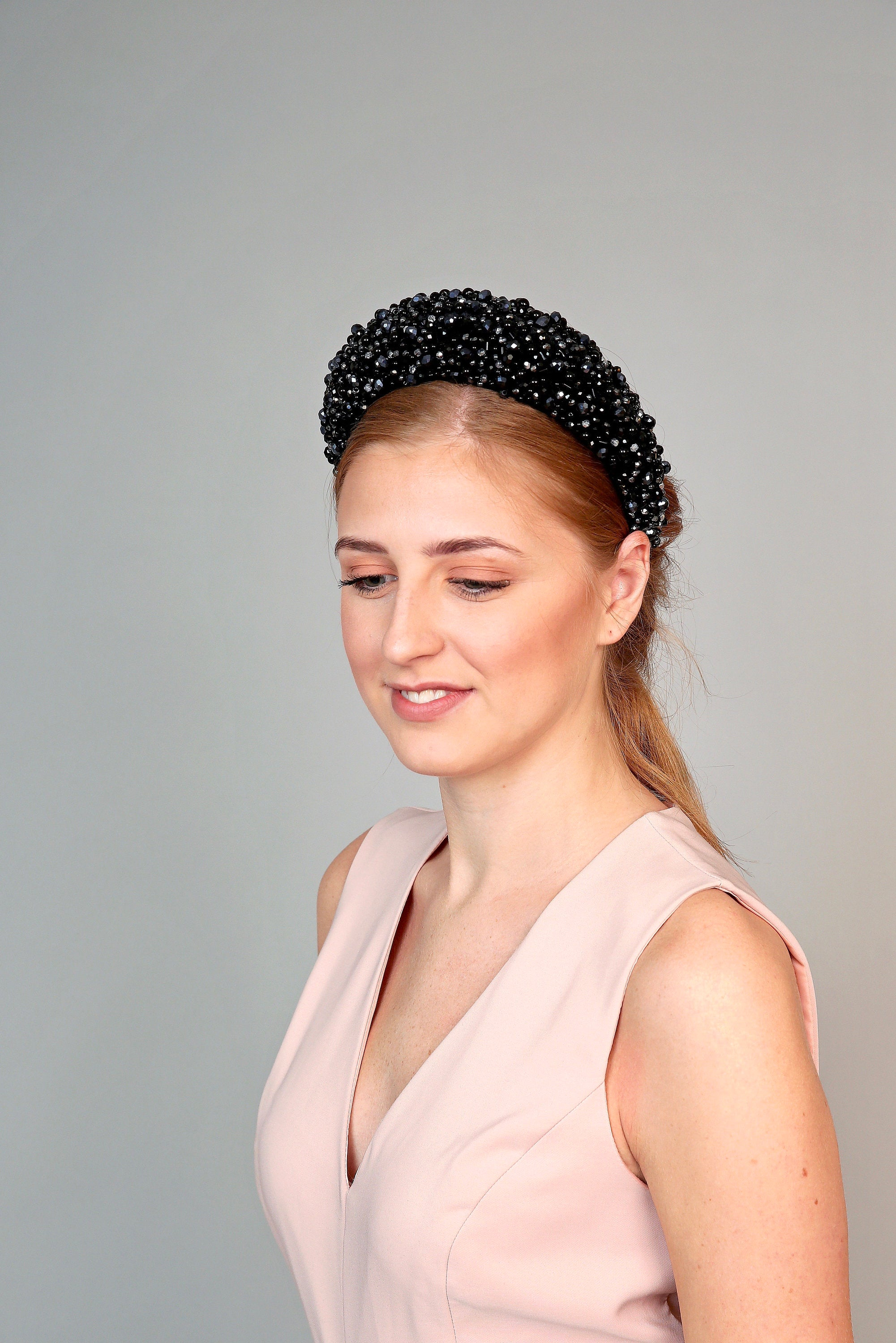Beaded Halo Crown
