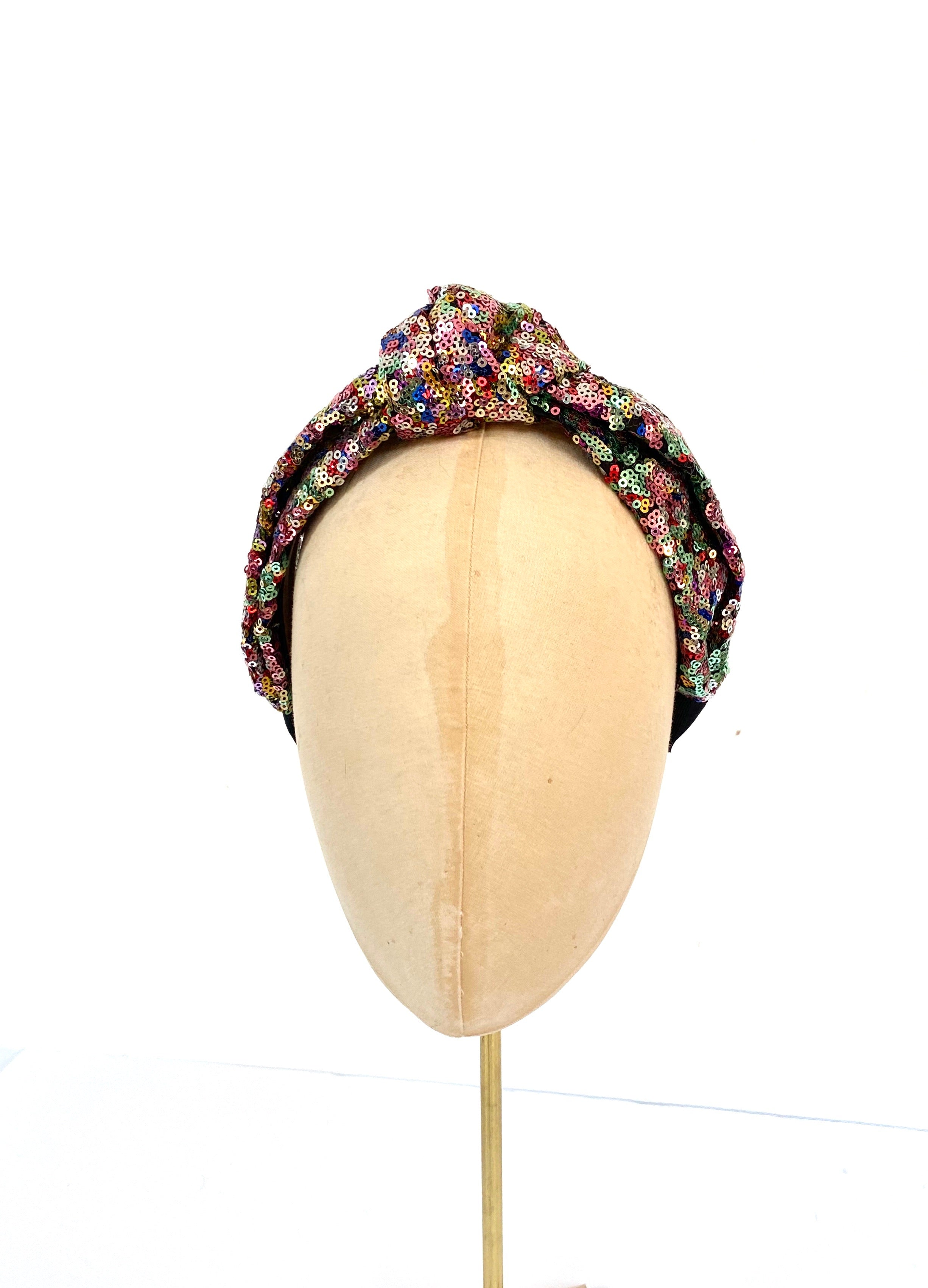 Sequin Knotted Headband