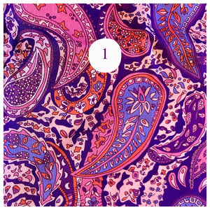 Liberty of London Paisley Print fabric for face mask face covering