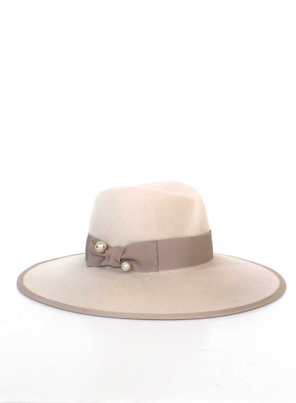Felt Fedora - off white