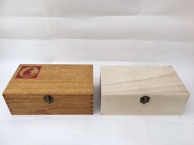 XL wooden box