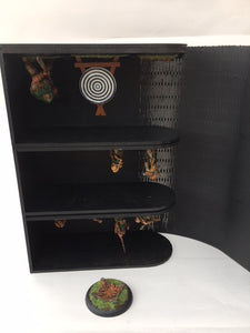 Shadespire/necromunda compatible Miniature storage book with customised engraving