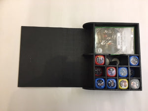 Star Wars Destiny storage book with customised engraving