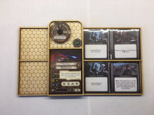 X-wing 2.0 compatible 4 card dashboard add on