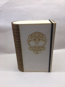 Miniature storage book with customised engraving