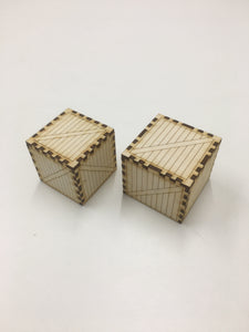 Dice storage crate