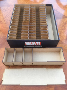 Marvel champions compatible box insert