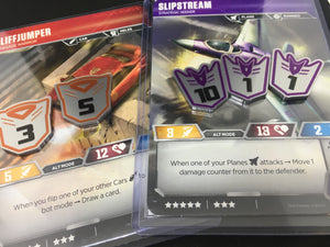 Transformers card game compatible large premium token set. Full colour, embossed, double sided - no painting required.